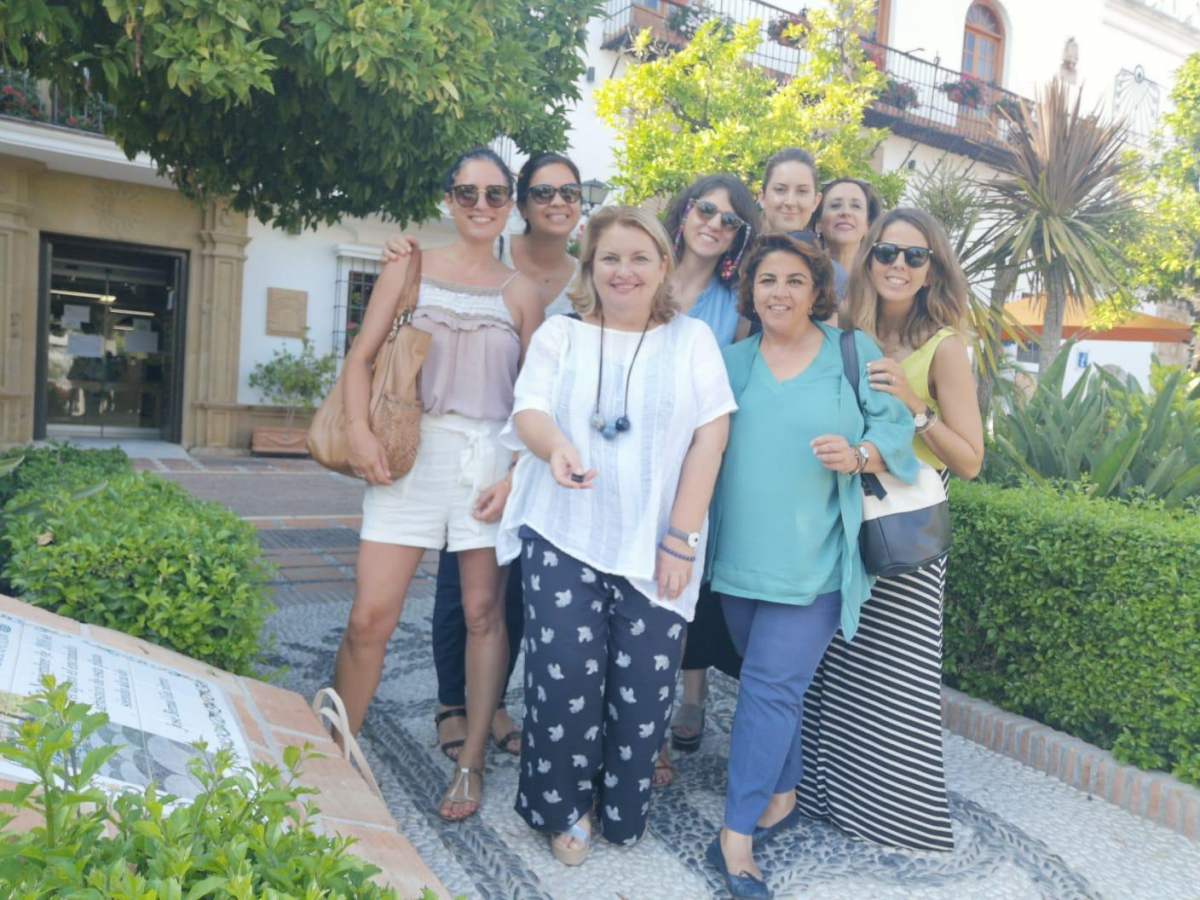 Marbella muestra junto a Málaga y la Costa del Sol el potencial del segmento MICE a un grupo de profesionales de Ovation