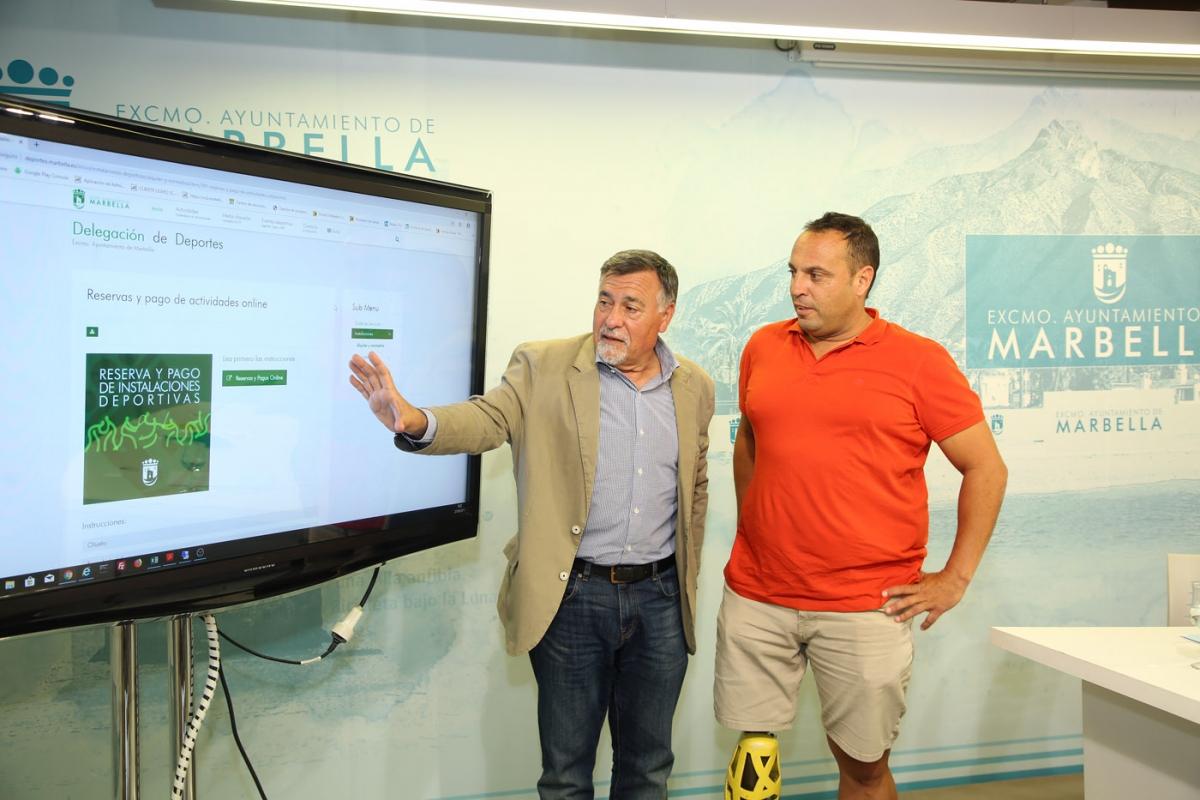 El Ayuntamiento implanta un sistema para la reserva de instalaciones deportivas y el pago de las Escuelas Deportivas Municipales a través de internet