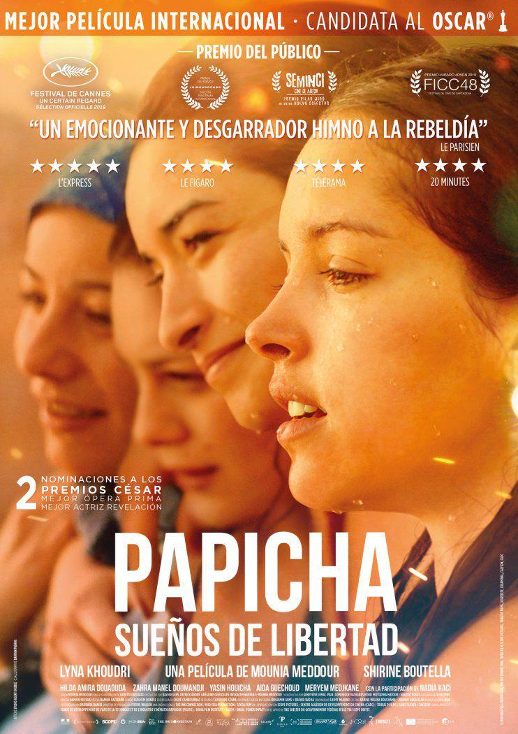 [15 Abr 2021] PAPICHA, SUEÑOS DE LIBERTAD (Cine, Cultura y Enseñanza) IES Rio Verde