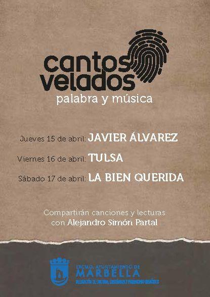 [16 Abr 2021] CANTOS VELADOS: TULSA (Música / Conciertos, Conferencias, Cultura y Enseñanza) Teatro Ciudad de Marbella