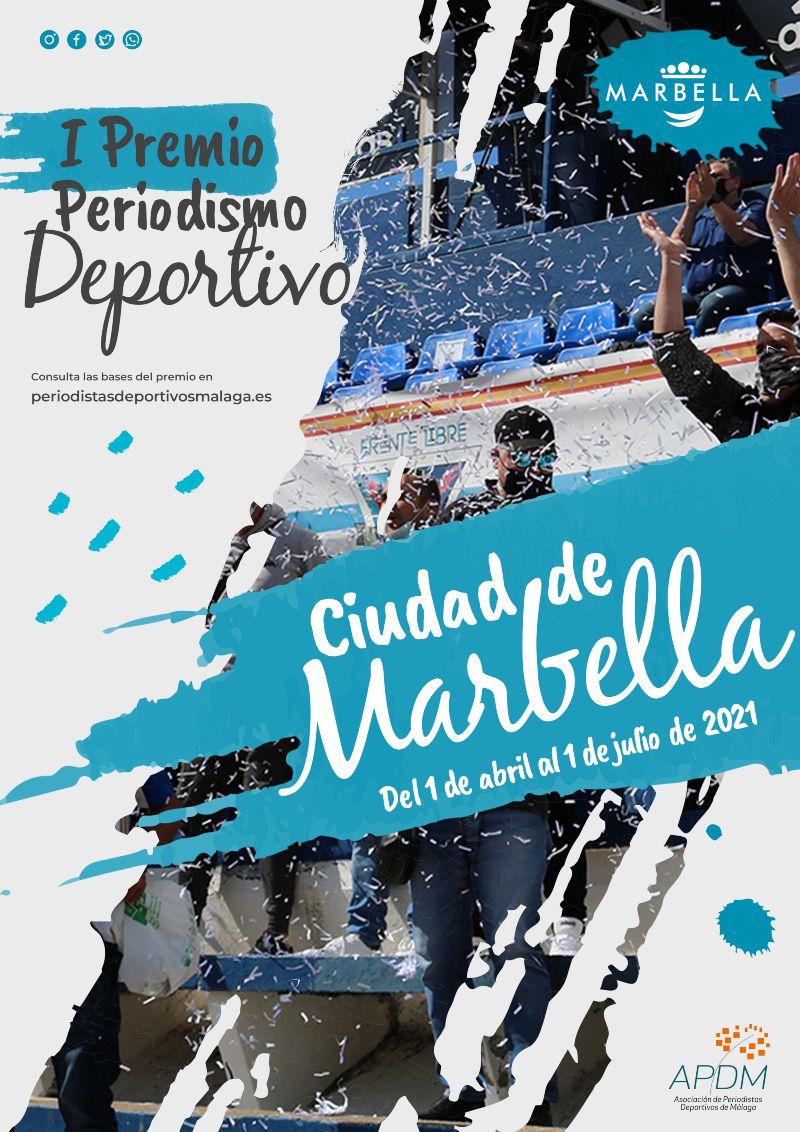 [07 Abr 2021] I PREMIO DE PERIODISMO DEPORTIVO CIUDAD DE MARBELLA (Concursos, Deportes)