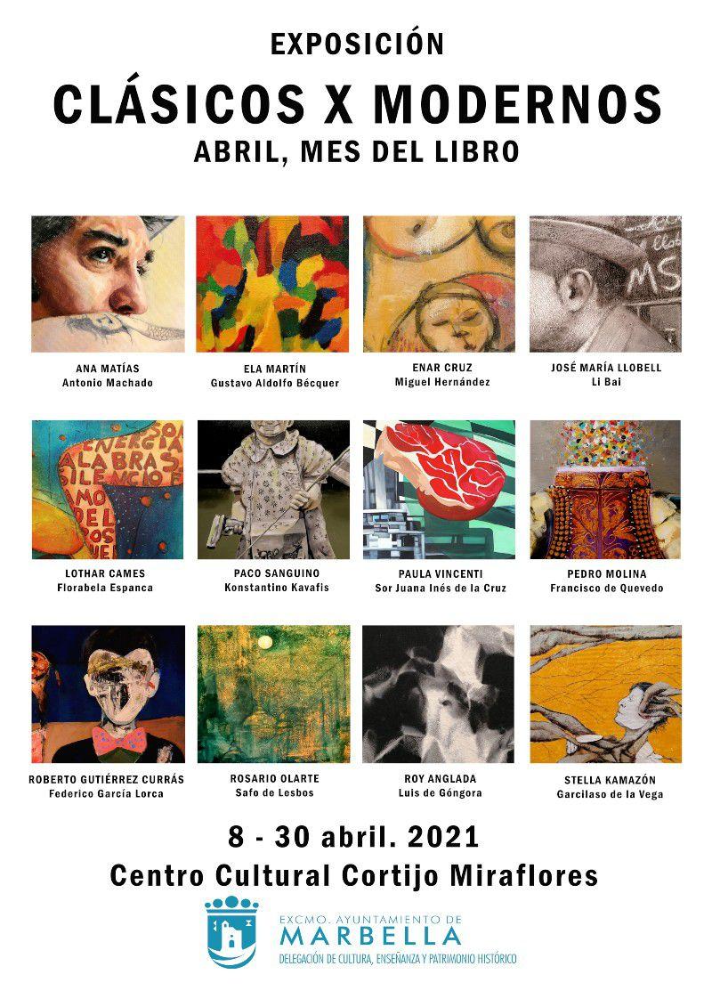 [23 Abr 2021]  CLÁSICOS X MODERNOS (Exposiciones, Cultura y Enseñanza) Centro Cultural