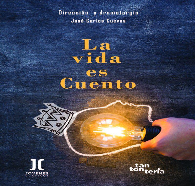 [18 Abr 2021] LA VIDA ES CUENTO (Teatro, Cultura y Enseñanza, Tenencia Alcaldía San Pedro) Centro de Artes Escénicas La Alcoholera