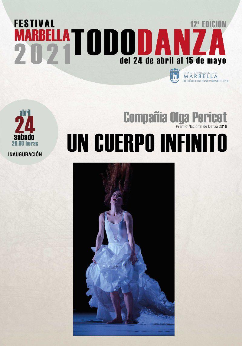 [24 Abr 2021] UN CUERPO INFINITO (Marbella Todo Danza, Cultura y Enseñanza) Teatro Ciudad de Marbella