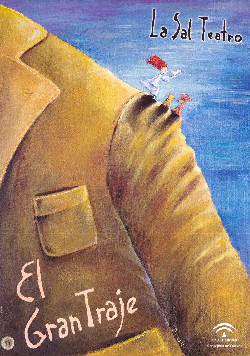 [25 Abr 2021] EL GRAN TRAJE (Teatro, Cultura y Enseñanza, Tenencia Alcaldía San Pedro) Centro de Artes Escénicas La Alcoholera