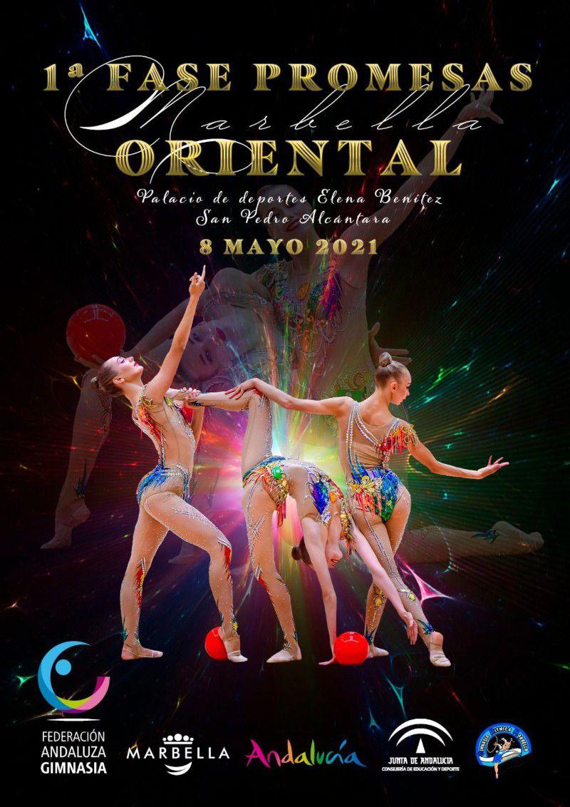 [08 May 2021] 1ª FASE PROMESAS ORIENTAL: GIMNASIA RÍTMICA (Deportes, Deportes) Palacio Deportes San Pedro