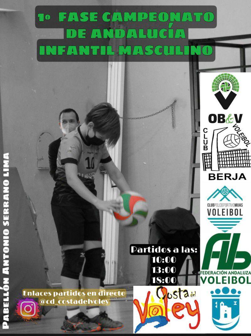 [08 May 2021] 1ª FASE CAMPEONATO DE ANDALUCÍA VOLEIBOL (Deportes, Deportes) Polideportivo Antonio Serrano Lima