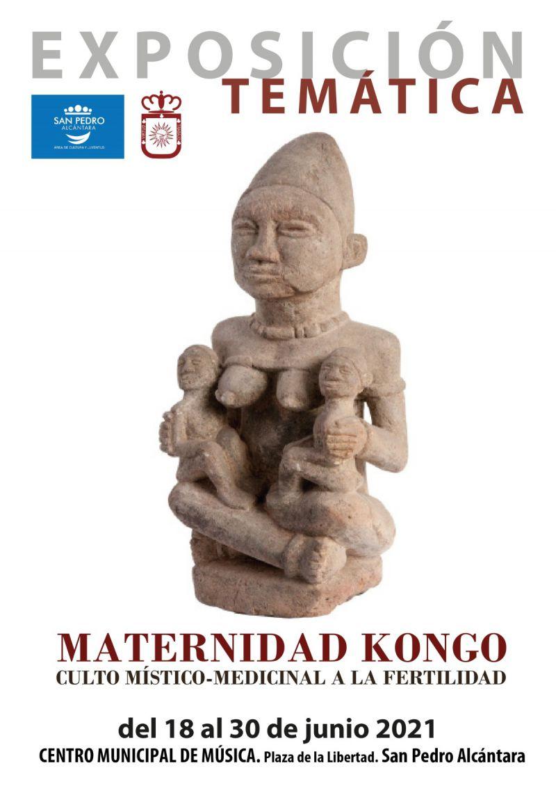 [25 Jun 2021] - MATERNIDAD KONGO. CULTO MÍSTICO-MEDICINAL A LA FERTILIDAD (Exposiciones, Cultura y Enseñanza, Tenencia Alcaldía San Pedro) Centro Cultural Rosa Verde