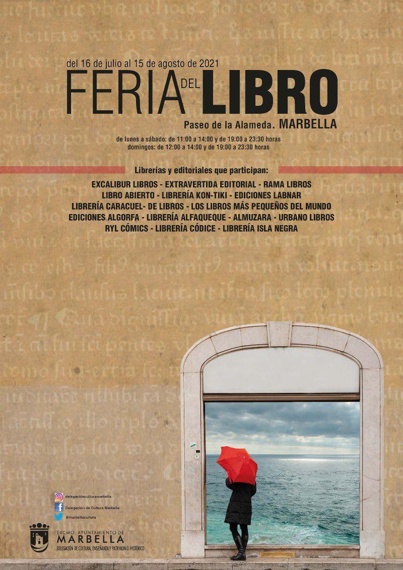 [24 Jul 2021] - FERIA DEL LIBRO DE MARBELLA (Conferencias, Ferias y Congresos, Cultura y Enseñanza) Paseo de la Alameda