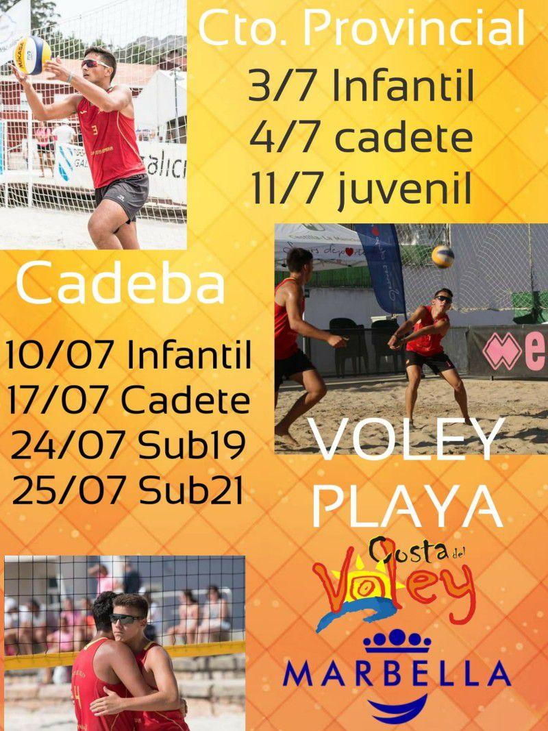 [24 Jul 2021] - CAMPEONATO DE ANDALUCÍA Y CAMPEONATOS PROVINCIALES DE VOLEY PLAYA (Deportes, Deportes) Playa El Cable
