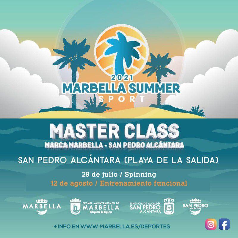 [29 Jul 2021] - MASTER CLASS SPINNING- MARBELLA SUMMER SPORT (Deportes, Deportes)