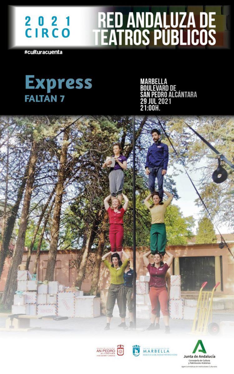 [29 Jul 2021] - EXPRESS (Teatro, Cultura y Enseñanza, Tenencia Alcaldía San Pedro)