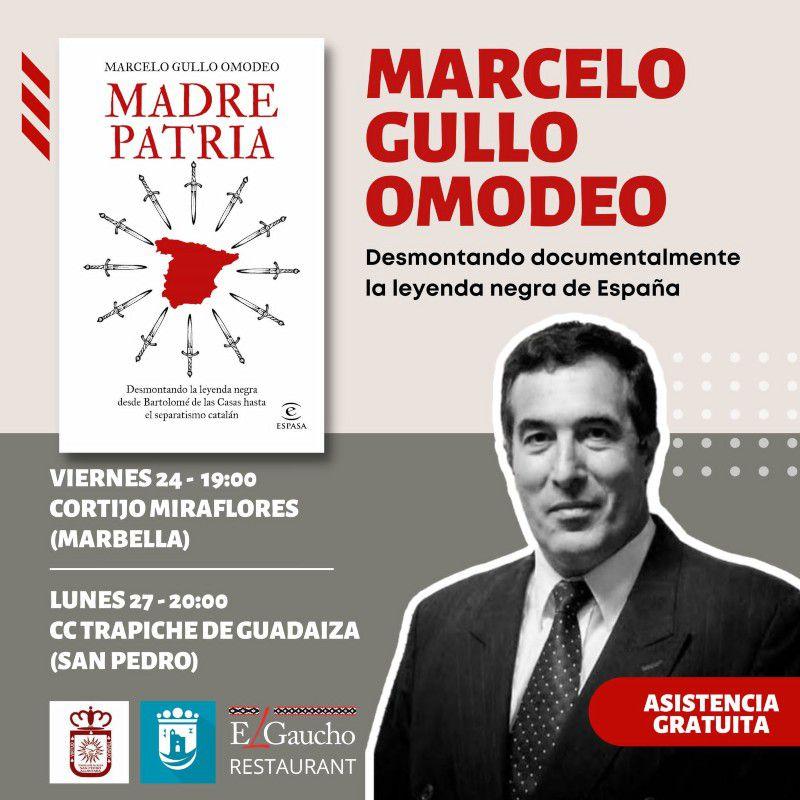 """[24 Sep 2021] - PRESENTACIÓN LIBRO: """"MADRE PATRIA""""  (Conferencias, Cultura y Enseñanza) Centro Cultural"""