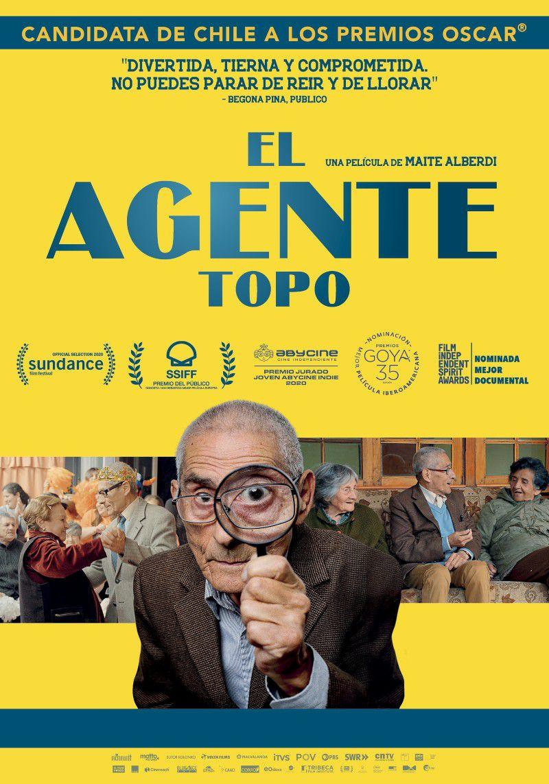 [21 Oct 2021] - EL AGENTE TOPO (Cine, Cultura y Enseñanza) IES Rio Verde