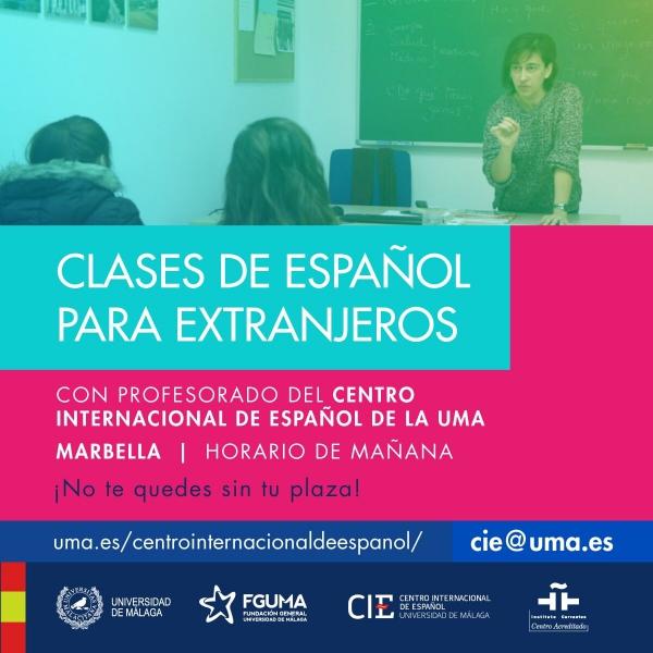 El Ayuntamiento de Marbella y el Centro Internacional de Español de la Universidad de Málaga alcanzan un acuerdo para impartir clases en la ciudad en octubre
