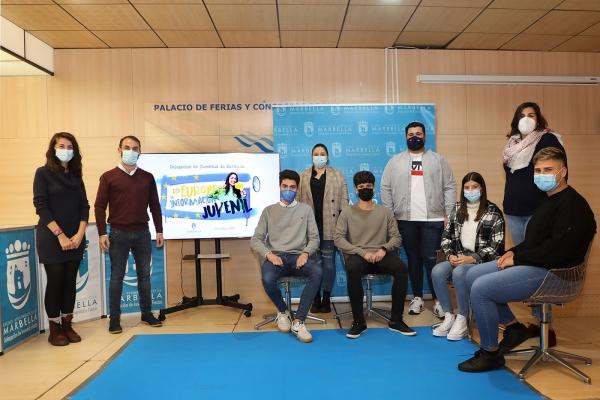 El Ayuntamiento se suma a la celebración del Día Europeo de la Información Juvenil con un acto en el que se ha reivindicado la labor que se desarrolla desde este servicio