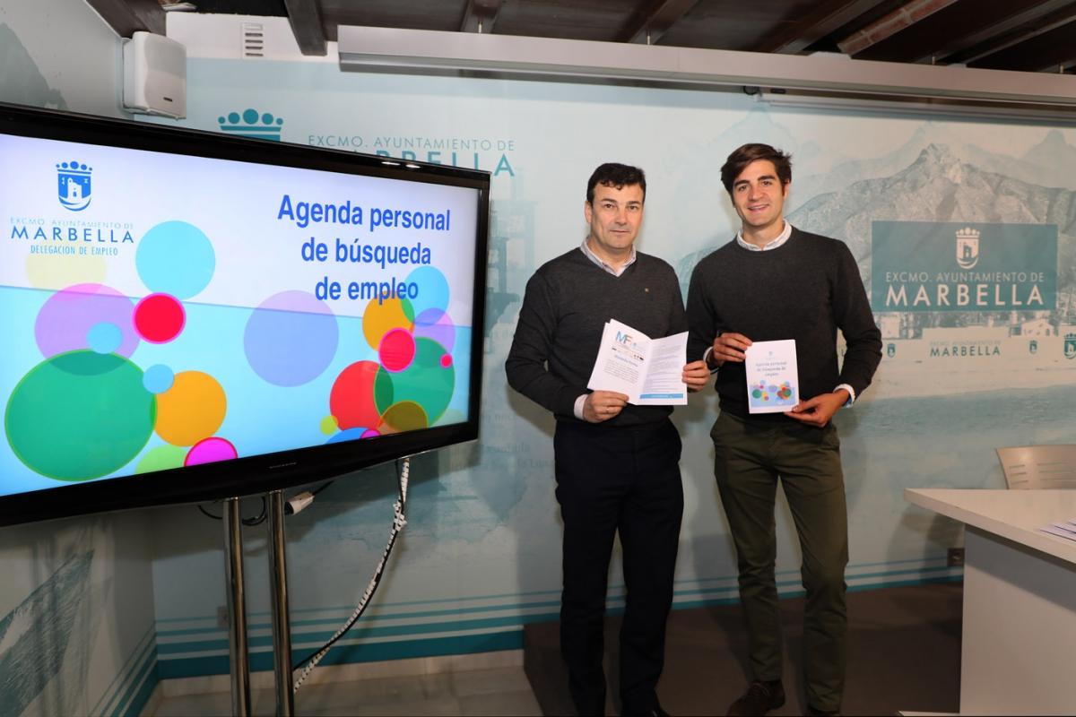 El Ayuntamiento elabora la tercera edición de la Agenda personal gratuita para guiar a los desempleados en el proceso de búsqueda de trabajo