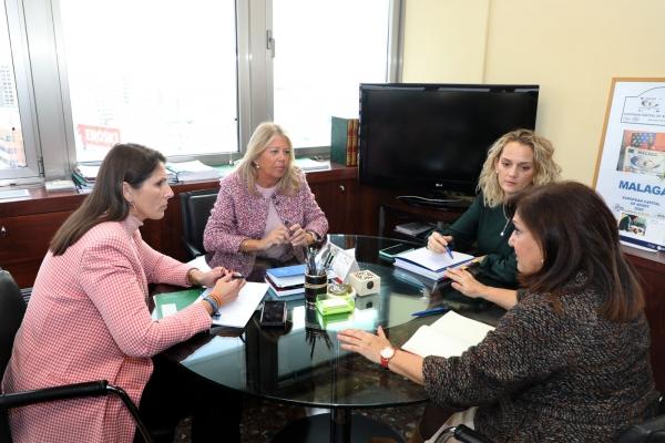 El Ayuntamiento y la Junta de Andalucía acuerdan trabajar conjuntamente para dotar a Bello Horizonte de un nuevo colegio