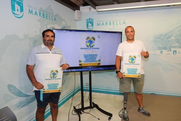 El programa 'Marbella Summer Experience' ofrecerá actividades gratuitas de una veintena de disciplinas deportivas para toda la familia