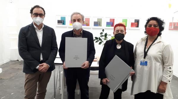 El Museo del Grabado premia a la Galería Aural con el galardón José Luis Morales y Marín en el marco de la Feria Estampa