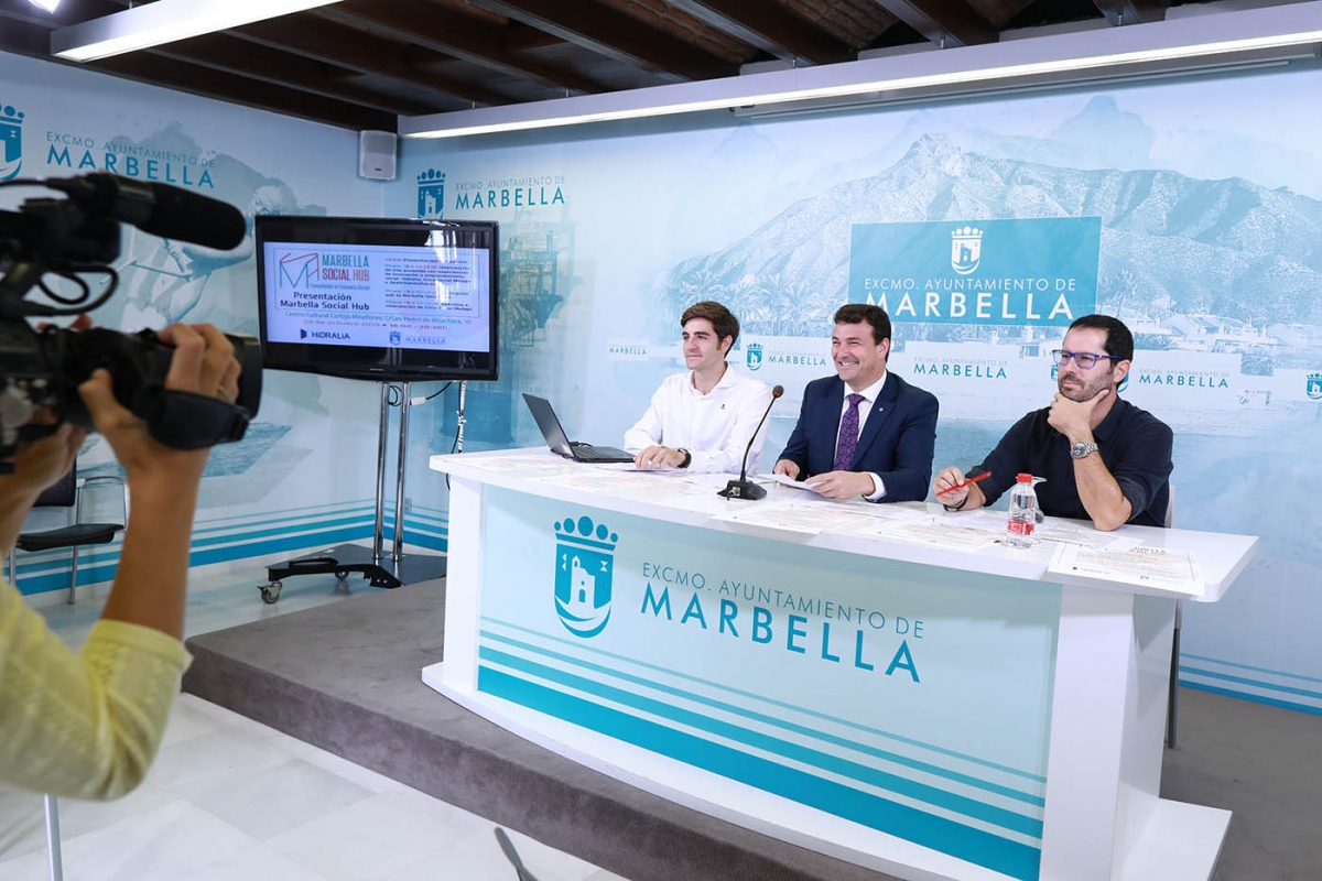 El Ayuntamiento pone en marcha el programa 'Marbella Social Hub' para impulsar procesos de innovación y emprendimiento social en el municipio