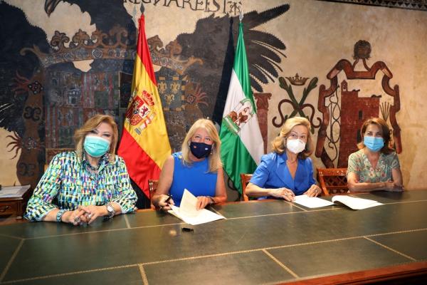 El Ayuntamiento refuerza su compromiso con la labor social de la Fundación Bastiano Bergese con un nuevo convenio que incrementa en un 78 por ciento la cuantía respecto a 2020