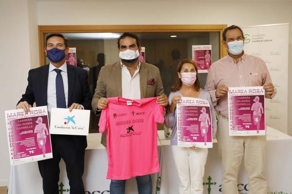 El Ayuntamiento respalda la IX Carrera Solidaria Marea Rosa, que tendrá lugar el próximo 7 de noviembre para visibilizar la lucha contra el cáncer de mama