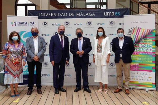 Marbella abre los Cursos de Verano de la UMA, que se impartirán en la ciudad del 29 de junio al 2 de julio con la novedad de su carácter gratuito y la celebración de forma presencial y virtual