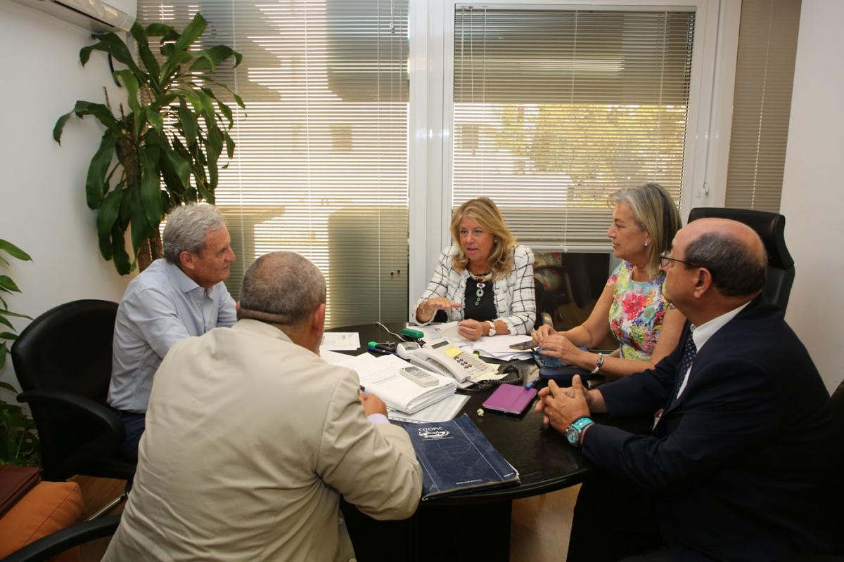 La alcaldesa mantiene la tercera reunión con un colegio profesional para informar sobre la decisión del Ayuntamiento de elaborar el PGOU de Marbella