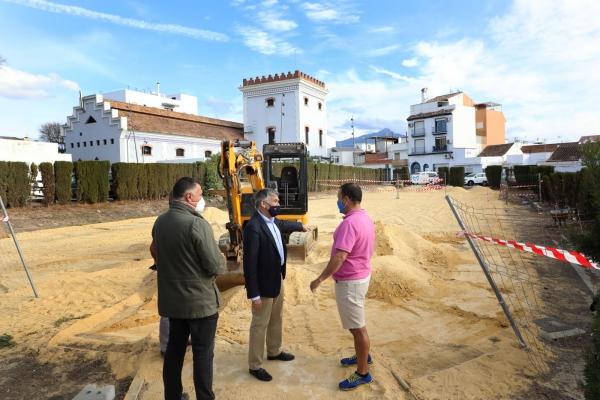 El Ayuntamiento creará una pista multideportiva en el barrio de El Ingenio de San Pedro Alcántara