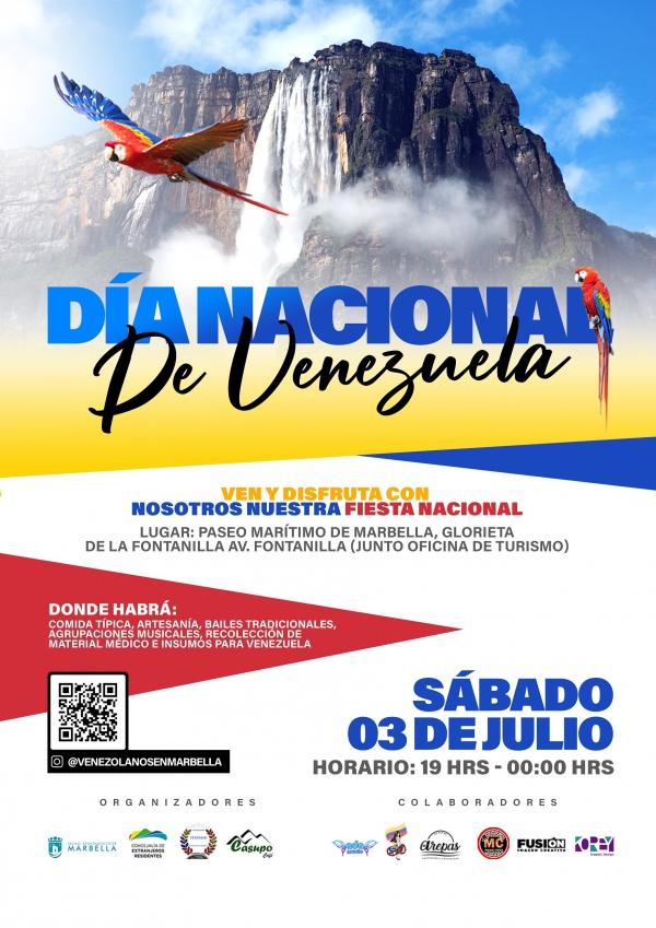 La Glorieta de La Fontanilla albergará el 3 de julio la fiesta del Día Nacional de Venezuela