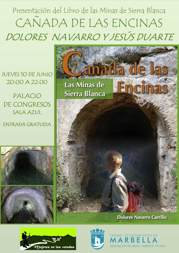 El Palacio de Ferias y Congresos albergará el próximo jueves la presentación del libro 'Cañada de las Encinas. Las Minas de Sierra Blanca', de Dolores Navarro