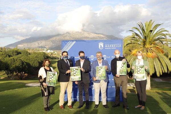 Marbella acogerá del 21 de noviembre al 19 de diciembre un circuito que se desarrollará en cinco campos de golf con todas las medidas de prevención frente al Covid-19