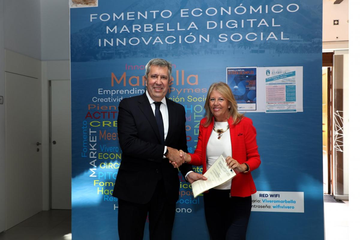 El Ayuntamiento recupera los más de 200.000 euros invertidos en el Vivero de Empresas de Marbella y los destinará a políticas de formación y empleo