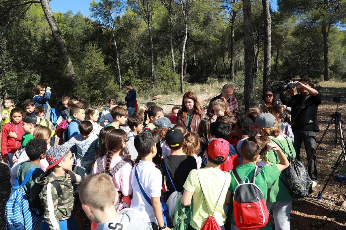 El Ayuntamiento oferta más de una treintena de actividades dentro de la campaña de Educación Ambiental del curso 2019/20 dirigida a alumnos de Primaria a Bachillerato