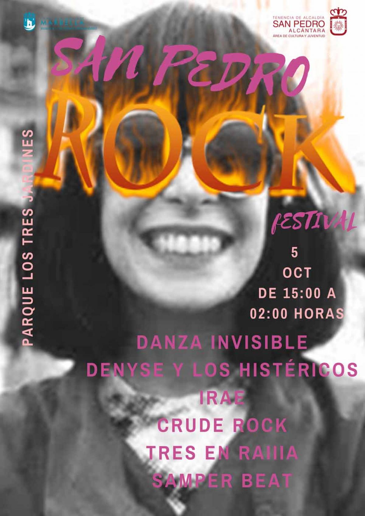 El Festival San Pedro Rock llenará este sábado de música el parque de los Tres Jardines con Danza Invisible como cabeza de cartel