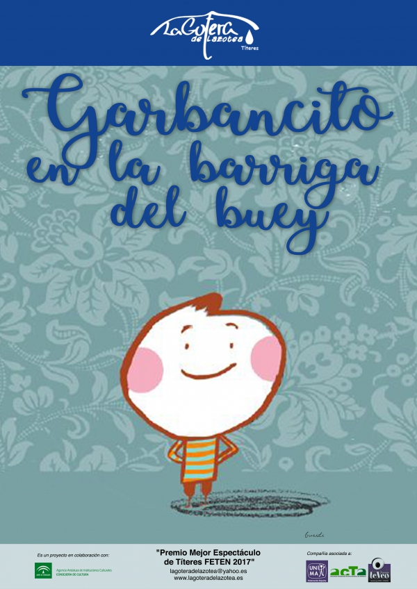 El Centro de Artes Escénicas La Alcoholera de San Pedro Alcántara acogerá el domingo la obra de teatro infantil 'Garbancito en la barriga del buey'