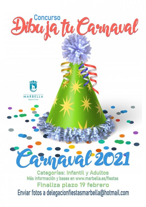 La concejalía de Fiestas abre el plazo de participación en cinco concursos online de Carnaval y adapta la edición de 2021 para hacer frente a la crisis sanitaria del Covid-19