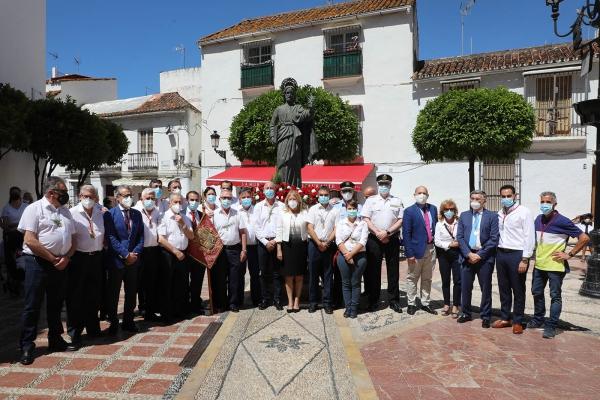 Marbella celebra la festividad de San Bernabé con una misa en honor a su Patrón