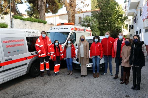 El Ayuntamiento de Marbella y Cruz Roja refuerzan la atención a personas sin hogar dentro del programa 'Intemperie'