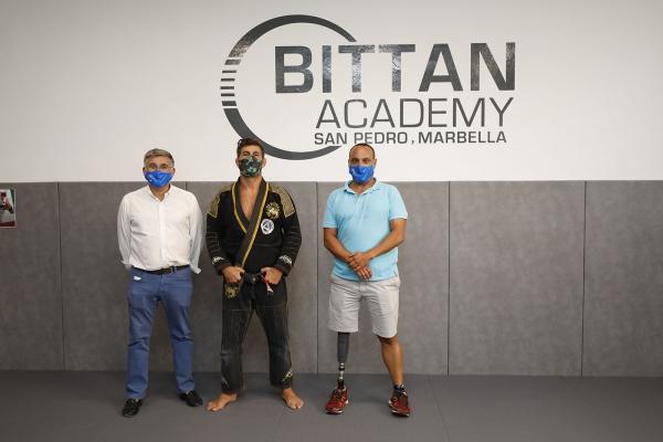 El Ayuntamiento respalda a Patrick Bittan ante su próxima participación en el Mundial de Jiu-Jitsu de Abu Dabi