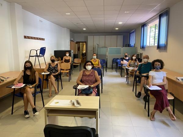 Un total de 24 personas preparan su salida al mercado laboral en la nueva 'Lanzadera Conecta Empleo' de Marbella