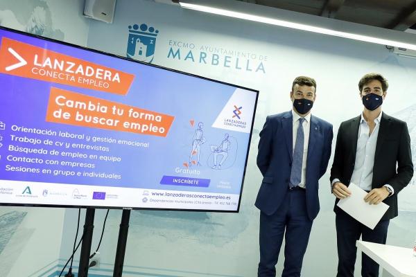 Marbella contará a partir de julio con una nueva 'Lanzadera Conecta Empleo' para asesorar de forma gratuita en la búsqueda de trabajo a una treintena de personas entre 18 y 60 años