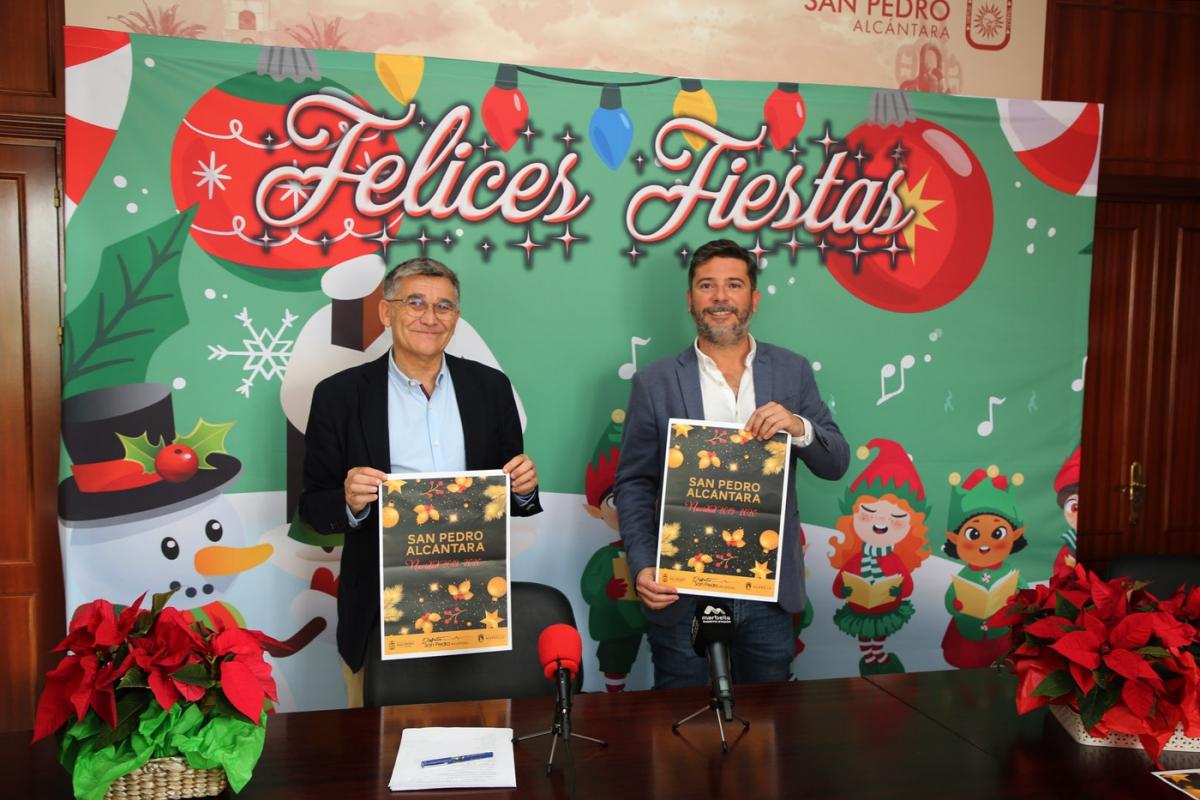 San Pedro Alcántara contará con más de una treintena de actividades y espectáculos de Navidad dirigidos a un público familiar e infantil