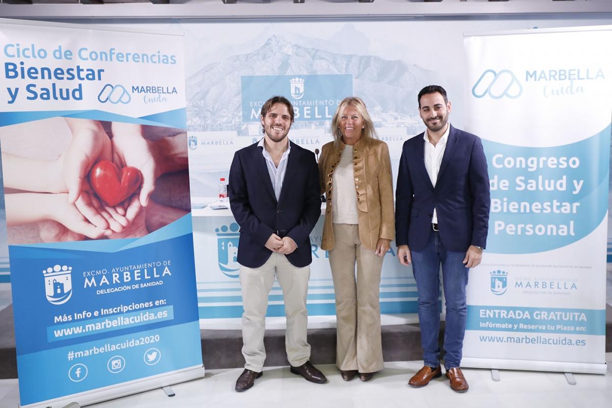 La ciudad volverá a ser referente del bienestar y la salud con la celebración del ciclo de conferencias y el congreso 'Marbella Cuida'