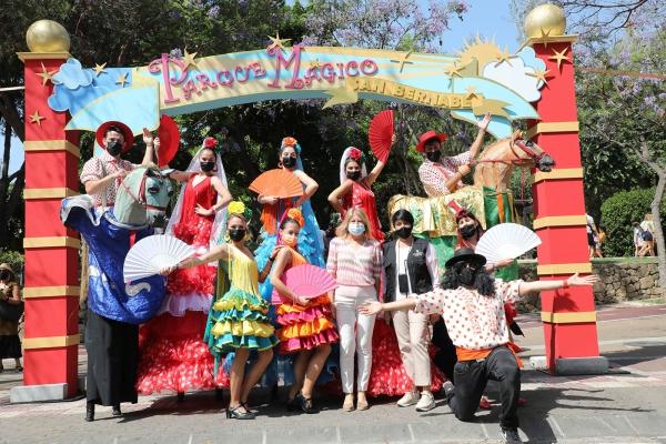 Cerca de 15.000 personas disfrutan este fin de semana del Parque Mágico de La Represa en el marco de los actos en honor a San Bernabé