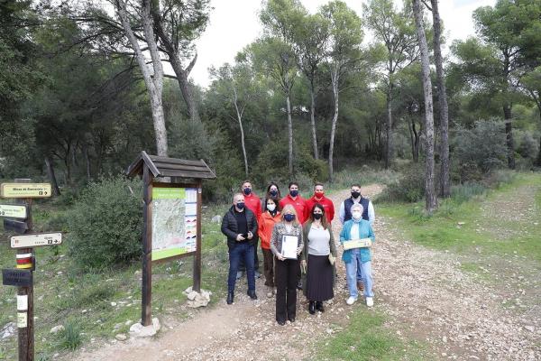 La cara sur de Sierra Blanca se convierte en la primera red de senderos en España con la Q de Calidad