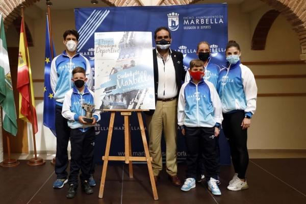 El Ayuntamiento impulsa la creación de los I Premios de Periodismo Deportivo Ciudad de Marbella para visibilizar y divulgar el trabajo de los profesionales de la provincia