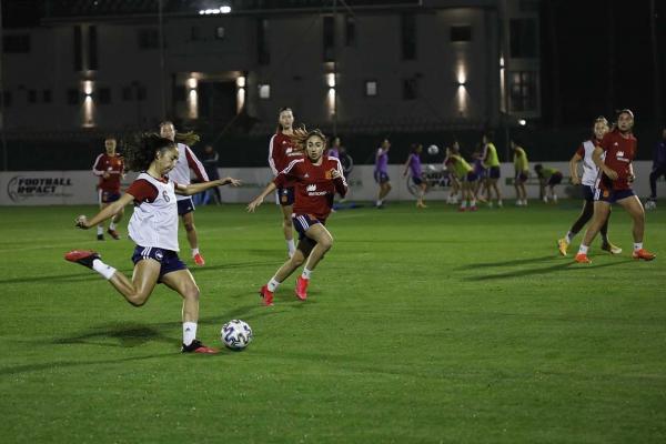 Marbella se convierte durante cuatro días en la sede de los entrenamientos de la selección española femenina Sub20