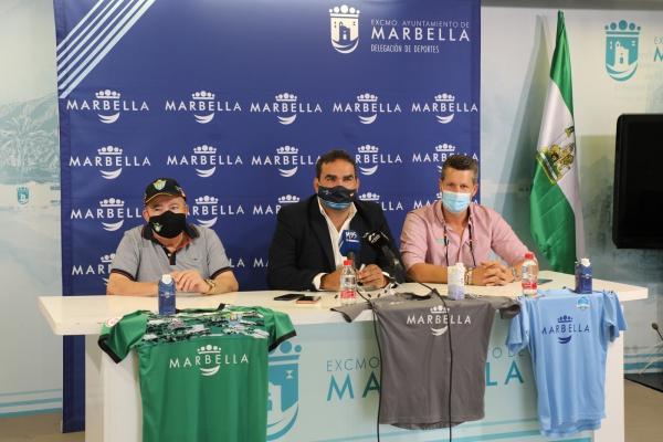El Ayuntamiento renueva el patrocinio deportivo al CD Vázquez Cultural y al Marbella Paraíso CF con una dotación total de 25.000 euros para esta temporada